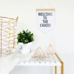 Image of Welcome to the Chaos Flag