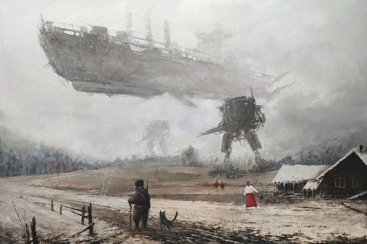 La reinterpretación ilustrada de la guerra por Jakub Różalski