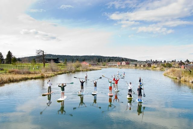 Paddle boarding on the Deschutes River!  Cant pass this one up!!!!