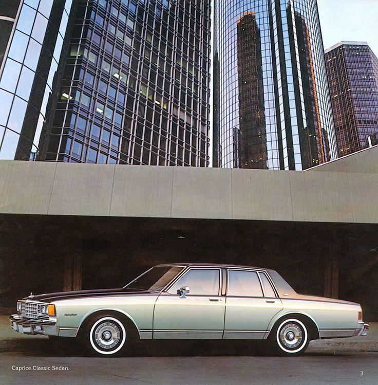 1981 Chevrolet Caprice Classic Sedan