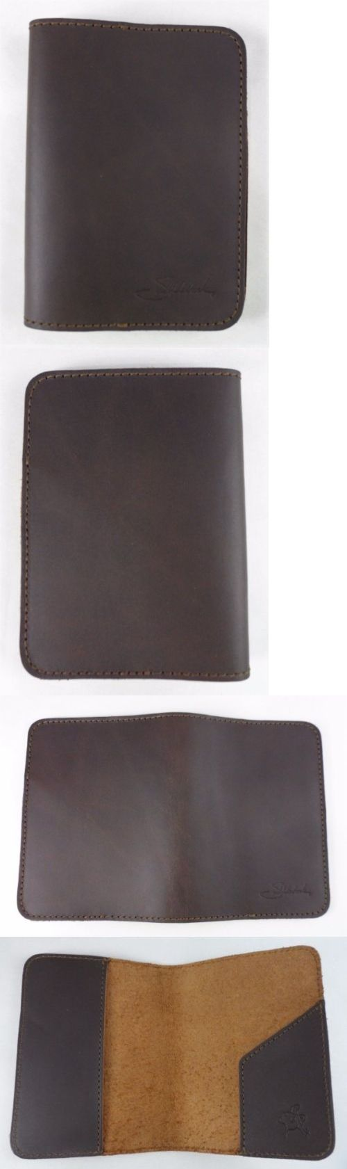 Other Unisex Accessories 155191: New Saddleback Leather Passport Sleeve - Dark Coffee Brown - Script Logo Retired -> BUY IT NOW ONLY: $75 on eBay!