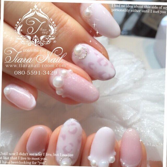 お客様nail♡ インスタもよろしくお願いします→gotemba_tiaranail #tiara_nail #ネイルブック