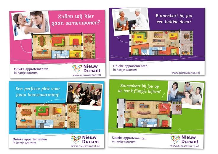 Posters Nieuw Dunant, Nijverdal
