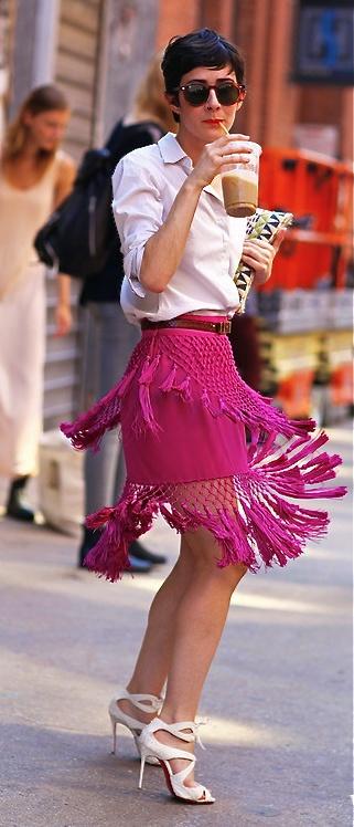 Nice skirt!!!