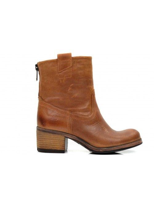 BULLBOXER 13539500 LAARZEN | COGNAC LEATHER - Online fashion kopen doe je op Fashionfoot wear.nl