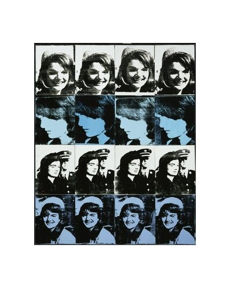 Artwork by Andy Warhol, Electric Chair, Made of Screenprint on paper
