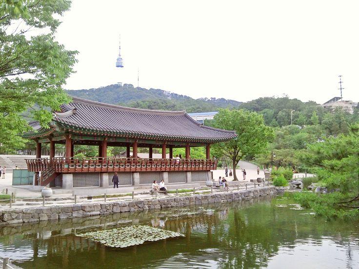 Namsangol Hanok Village (Seoul,Korea)