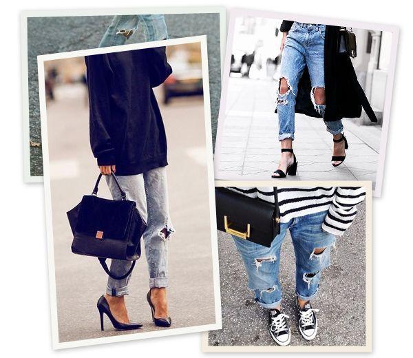 how to gescheurde jeans