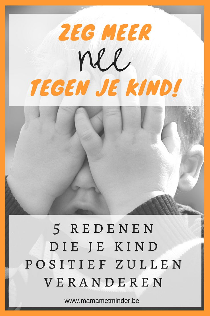 Hoe zeg je nee tegen je kind, en vooral, waarom zou je dat doen? Als je nee zegt krijg je gelukkigere kinderen die je respecteren. En het is niet moeilijk!