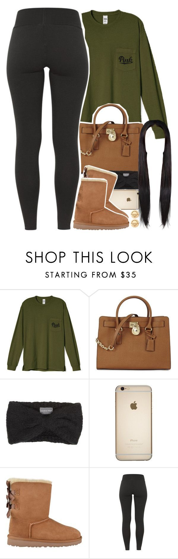sorry guys, I really havent been active  by daisym0nste ❤ liked on Polyvore featuring Michael Kors, Wooden Ships, UGG Australia and Tiffany  Co.