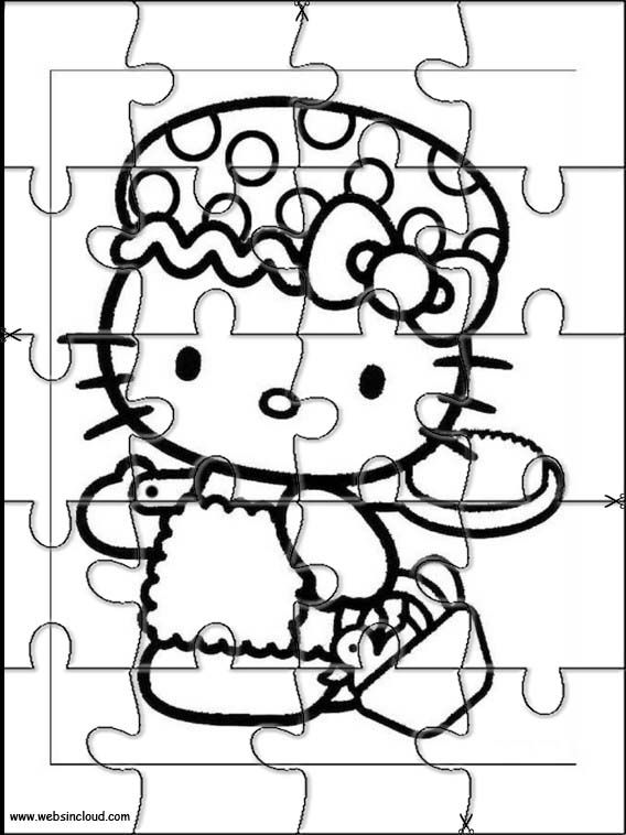 kids cut out coloring pages - photo#6