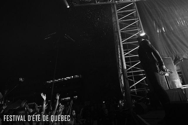The Bloody Beetroots Live sur la Scène Loto-Québec, Parc de la francophonie // 8 juillet 2014