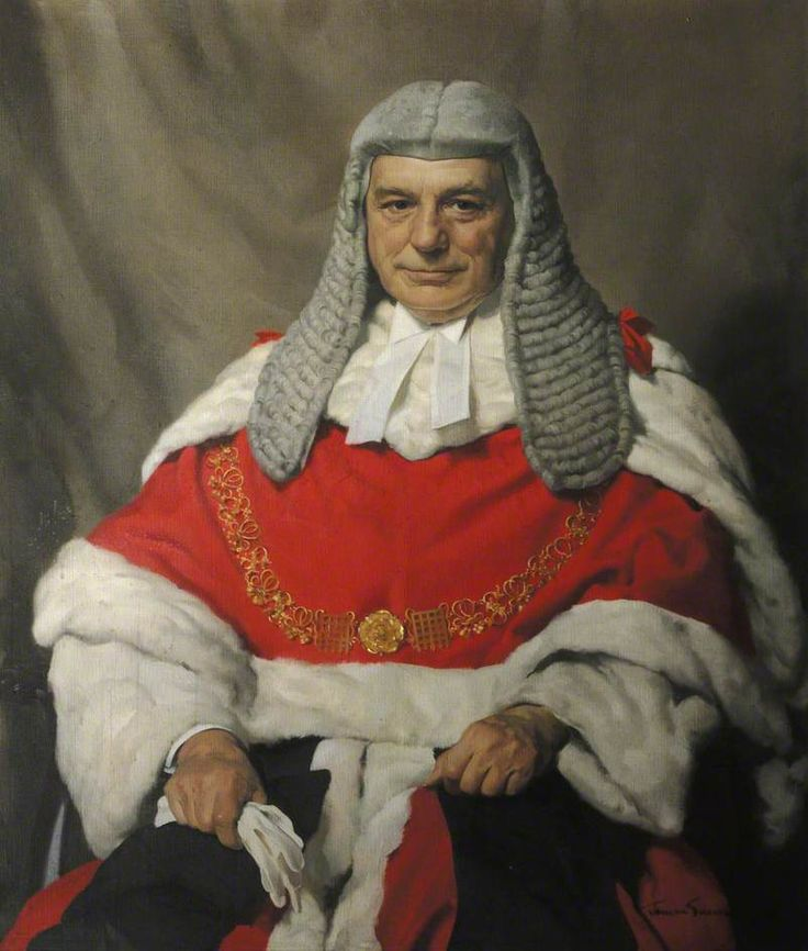 Herbert James Gunn (1893-1964) - Baron Goddard Rayner, Lord Chief Justice, 1946