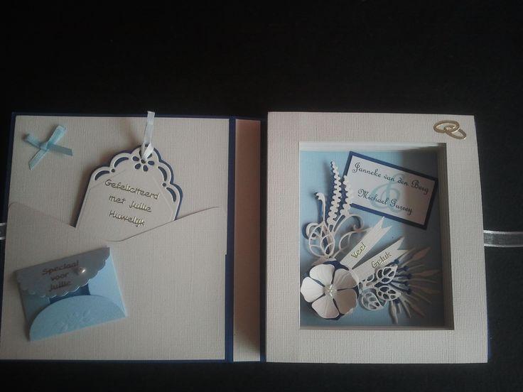 Inside Wedding bookcard.