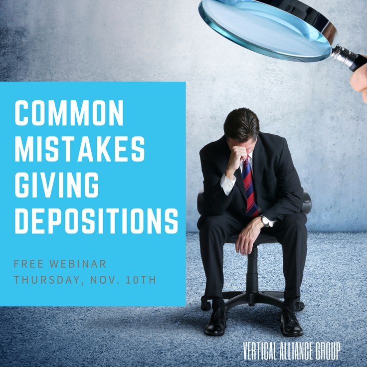 Join us for a free webinar this Thursday, November 10th, and learn how to avoid the most common mistakes giving depositions.  Register Online: https://www.truckingcompanyonlinetraining.com/111016GiveDepositionsRegister/