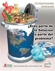 Resultado de imagen para maqueta del medio ambiente contaminado y limpio