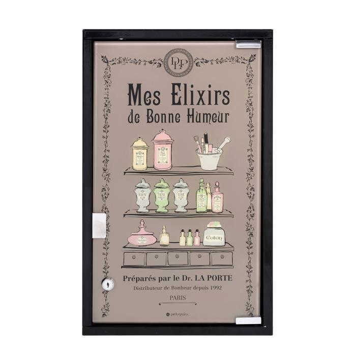 Miroir Salle De Bain Brico Depot : ARMOIRE DE TOILETTE Armoire de toilette Derrière La Porte Mes élixi …