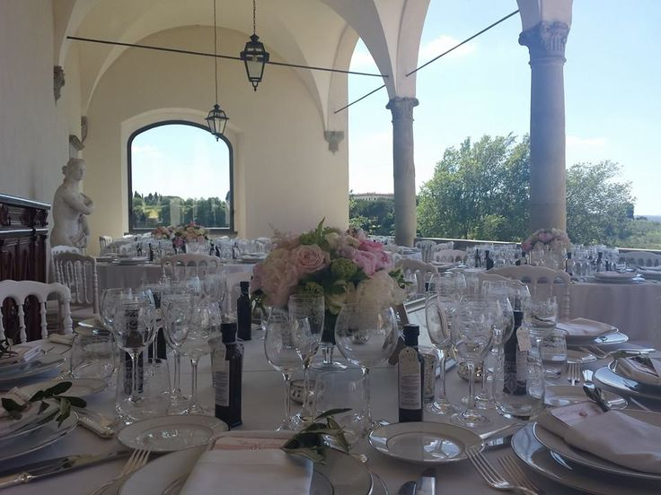 wedding in the panoramic terrace