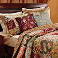 Blooming Prairie Full/ Queen-size 3-Piece Quilt Set | Overstock.com