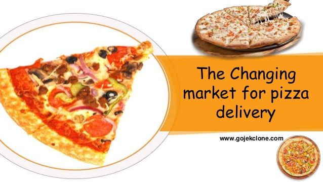 The Changing Market For Pizza Delivery Pizza Delivery Pizza Delivery App Food App