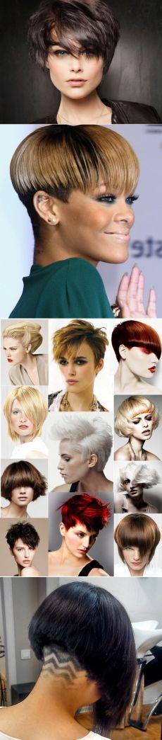 Самые модные женские стрижки на короткие волосы 2017-2018 фото, красивые короткие стрижки для женщин идеи