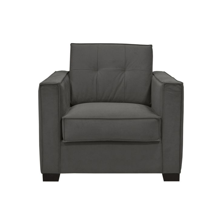 fauteuil de salon gris souris gris anthracite keep fauteuils fauteuils et poufs salon et. Black Bedroom Furniture Sets. Home Design Ideas