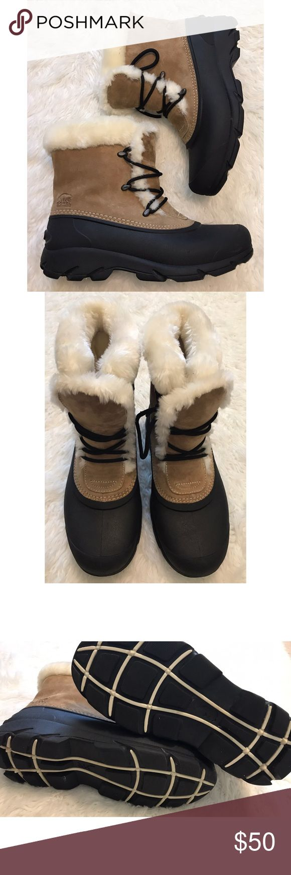 ❤️SALE❤️Sorel Snow Angel Lace-Up Insualted Boots -Bundle & save!!  -Check out my other listings for more great deals!  -NO TRADES OR HOLDS -I try my best to do next day shipping  ❌❌❌PLEASE DO NOT BUNDLE ANY OF THE LOTS TOGETHER, the shipping weight will be over the limit and I will cancel your order. If you have any questions  - please ask!  ❌❌❌ Sorel Shoes Winter & Rain Boots