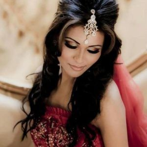 Indian Bride Hairstyles For Long Hair