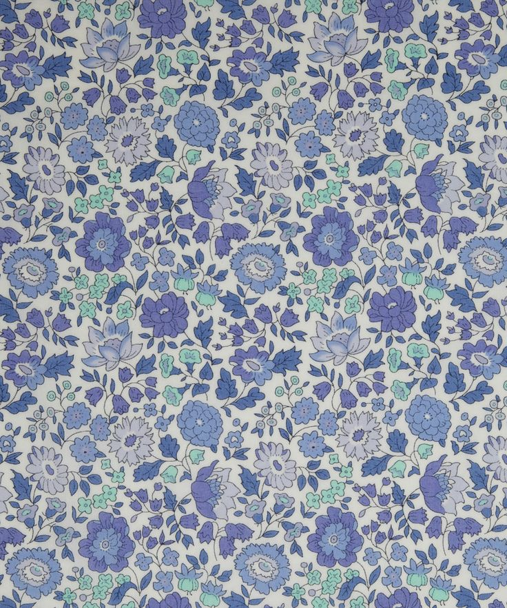 NEW SEASON! Liberty Art Fabric D'Anjo D Tana Lawn | Classic Tana Lawn by Liberty Art Fabrics | Liberty.co.uk