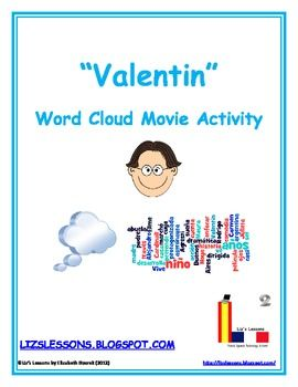 "FREE Looking for a fun modern movie to show in your Spanish classes? Show them ""Valentin""!"