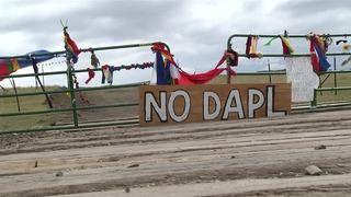 In a surprise move, the pipeline company recently bought land Native Americans say have sacred burial sites.