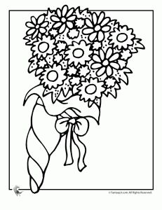 wedding coloring books free pages and clipart