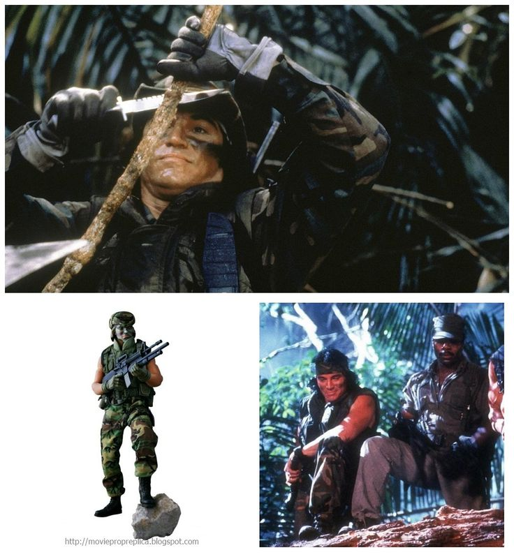 Sonny Landham as Billy Sole, a Native American tracker: Predator Collectible Action Figure