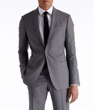 Grey Suit - Tuxedo and Suit rentals. Higher Quality, Lower Price. | The Black Tux