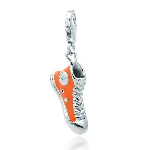 Sneaker Charm in Orange