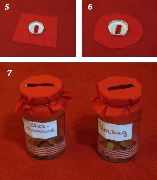 Rosa-rote Welt: Anleitung: Geld im Marmeladenglas