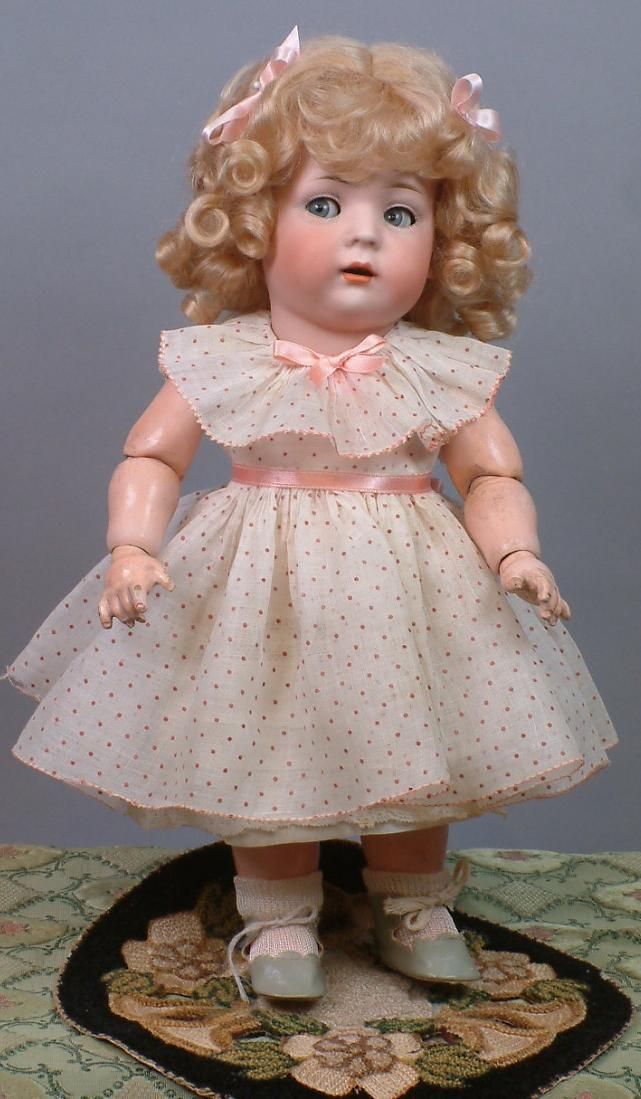 "Super Adorable 13.5"" Bruno Schmidt Toddler with Rare Flirting Eyes & from kathylibratysantiques on Ruby Lane"