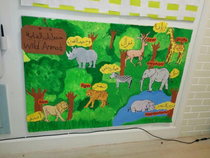 Wild Animals Classroom Display Activities Pinterest