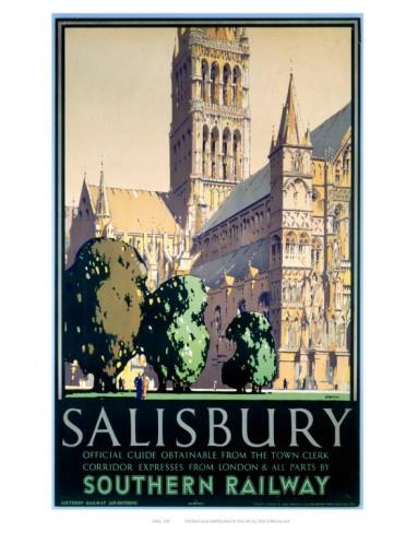 Salisbury | Britain | Pinterest | Art Prints, Trains and Trips