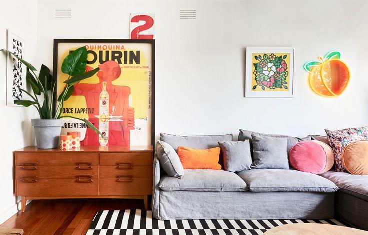 The Design Files - A Joyful, Neon-Tastic Family Home in Brighton - Photo – Eve Wilson.