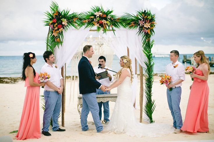Destination Weddings Travel Group on Jete Fete | Tropical Punta Cana, Dominican Republic Beach Wedding