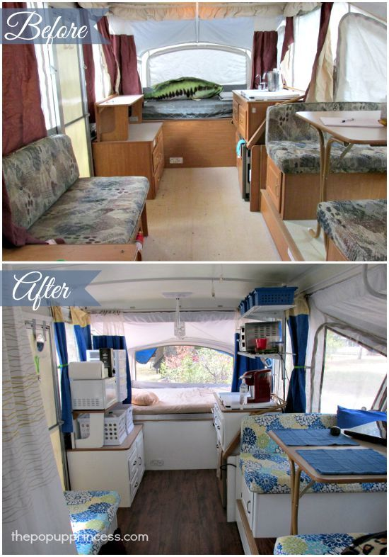 Anne's Pop Up Camper Makeover - The Pop Up Princess