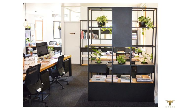 Designed office spaces , modern , creative