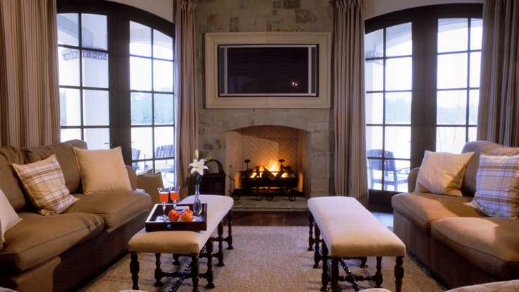 17 Best Images About Fireplace With Tv On Pinterest