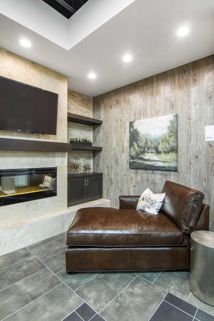 Black, charcoal, and smokey grey color tone living room floor tile - Montblanc Negro Porcelain Tile https://www.tileshop.com/product/680007.do