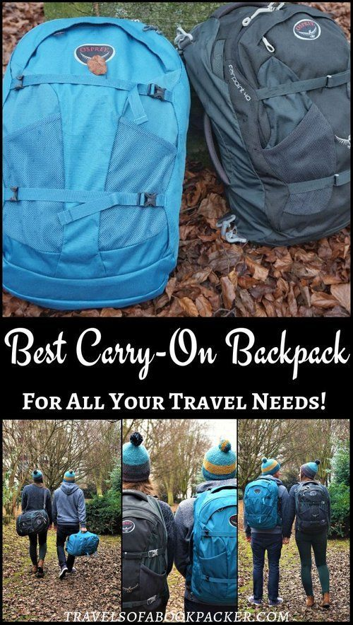 The best, versatile backpack that meets budget airline requirements. The Osprey Farpoint 40 will be your best travel buddy! #osprey #backpack #carryon