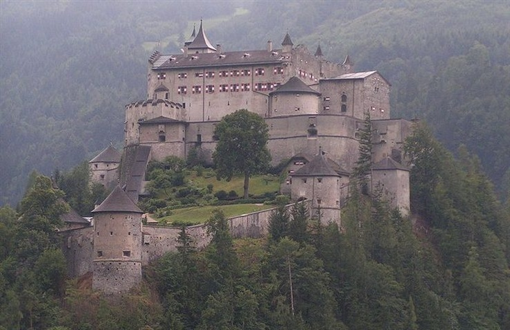 85 BEAUTIFUL CASTLES IN EUROPE!  There are thousands of castles in Europe. Many of them has been restored and well preserved and converted to house museums or galleries. Here is a list of beautiful castles in Europe!  THIS IS A GREAT SITE!  PLEASE, ENJOY! :) ♥: Salzburg Austria, Burg Hohenwerfen, Stands High, Festung Hohenwerfen, Hohenwerfen Castles, Eagles Dare, Austrian Town, Salzach Valley, Burghohenwerfen