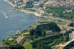 Old Fortress Corfu Greece