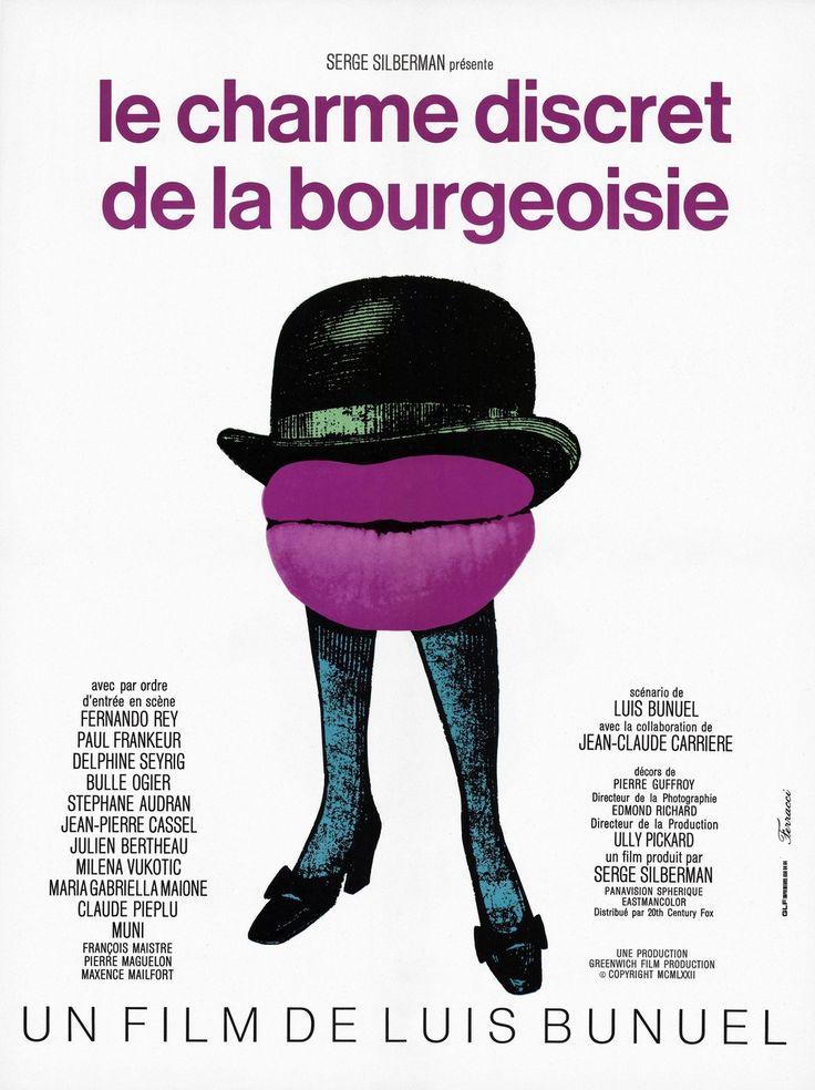 Affiche Le Charme discret de la bourgeoisie - 1972
