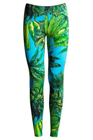 Versace for H - printed leggings
